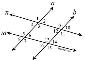 PPparallelProofs on Parallel Lines And Transversals Worksheet