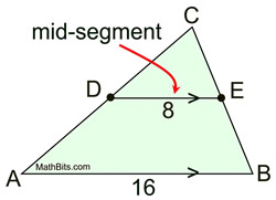midsegments in triangles mathbitsnotebook geo ccss math. Black Bedroom Furniture Sets. Home Design Ideas