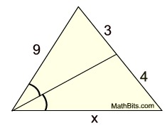 angle bisector theorem practice mathbitsnotebook geo ccss math. Black Bedroom Furniture Sets. Home Design Ideas