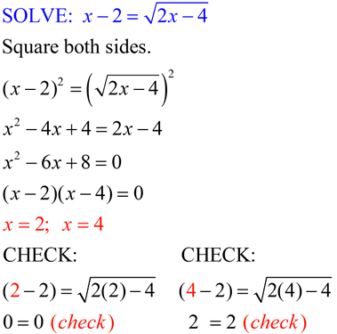 Radical Equations Algebraic Cube Roots Mathbitsnotebook