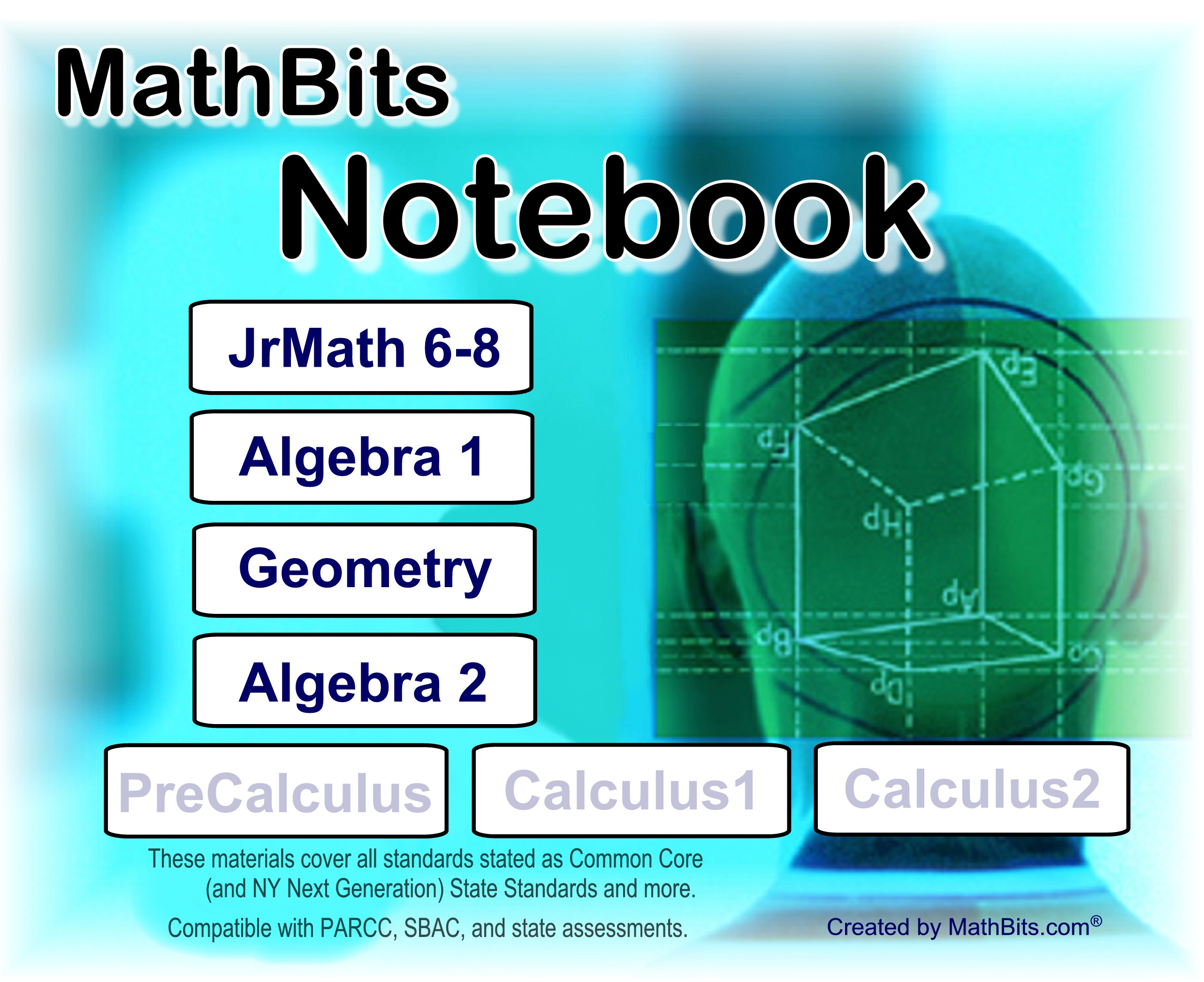 MathBitsNotebook - Common Core On-Line Study Resources for