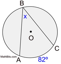 Formulas for angles in circles mathbitsnotebookgeo ccss math angles1 ccuart Image collections