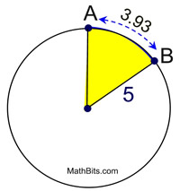 Practice with Angles Outside the Circle - MathBitsNotebook(Geo