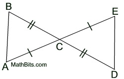 Preparing Congruent Triangle Proofs - MathBitsNotebook(Geo - CCSS ...