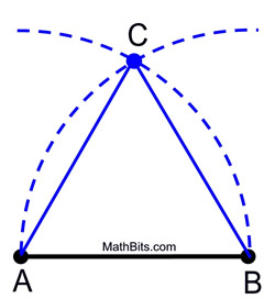 Image result for how to draw an equilateral triangle