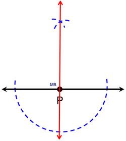 Construct Perpendicular Lines - MathBitsNotebook (Geo - CCSS