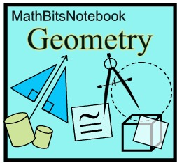 Practice Tests Outline - MathBitsNotebook (Geo- CCSS Math)