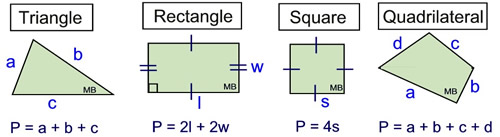 Area & Perimeter in Well Known Polygons - MathBitsNotebook(Geo ...