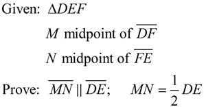 Midsegments In Triangles Mathbitsnotebook Geo Ccss Math