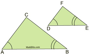 Proving Similar Triangles Mathbitsnotebook Geo Ccss Math