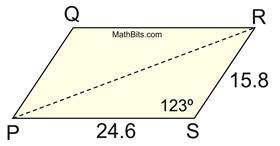 Area of Triangle Using Trigonometry - MathBitsNotebook(Geo - CCSS Math)