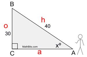 Trigonometry Finding Angles Mathbitsnotebook Geo Ccss Math